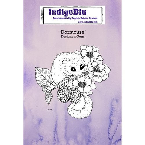 Indigoblu Cling Stamp DORMOUSE Rubber IND0292* Preview Image