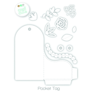Create A Smile POCKET TAG Cool Cuts Die DCS8