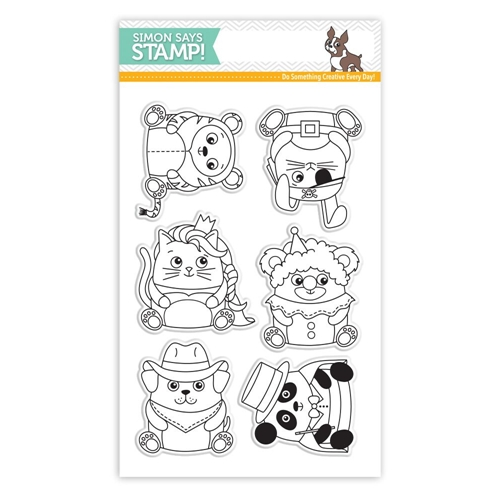 Simon Says Clear Stamps CRITTER COSTUME PARTY SSS101639 STAMPtember Preview Image