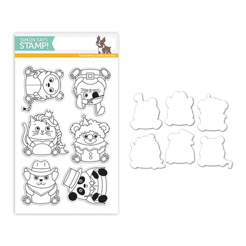 Simon Says Stamps And Dies CRITTER COSTUME PARTY Set268CP STAMPtember Preview Image