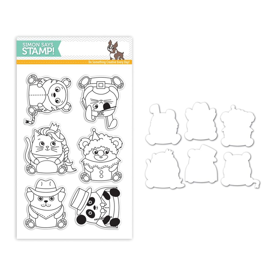 Simon Says Stamps And Dies CRITTER COSTUME PARTY Set268CP STAMPtember zoom image