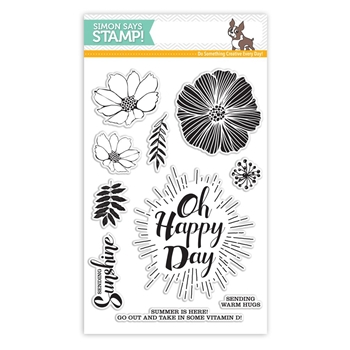 Simon Says Clear Stamps OH HAPPY DAY SSS101631