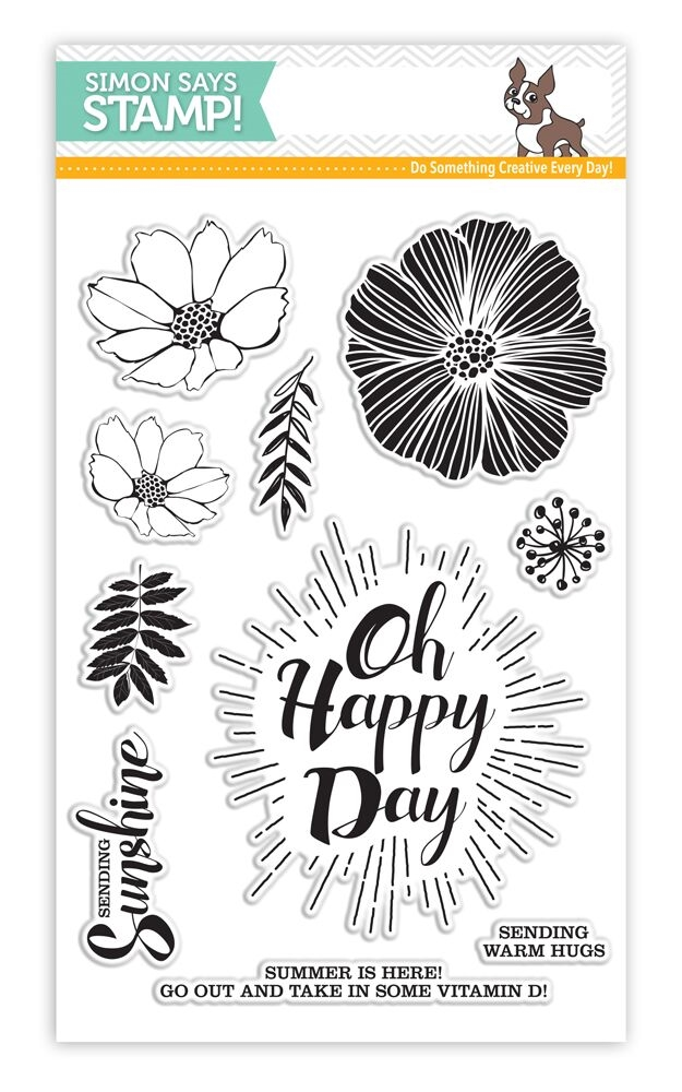 Simon Says Clear Stamps OH HAPPY DAY SSS101631 * zoom image