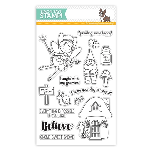 Simon Says Clear Stamps SECRET GARDEN SSS101629 Preview Image