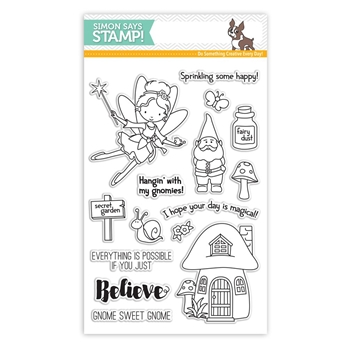 Simon Says Clear Stamps SECRET GARDEN SSS101629 STAMPtember
