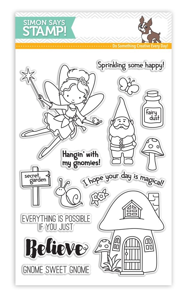 Simon Says Clear Stamps SECRET GARDEN SSS101629 zoom image
