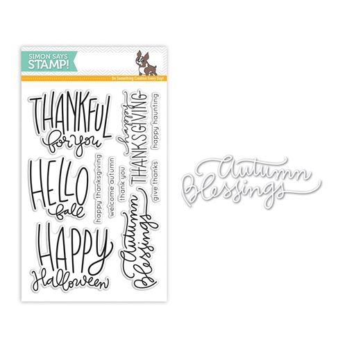 Simon Says Stamps And Dies AUTUMN GREETINGS Set273AG Preview Image