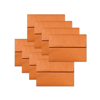 Simon Says Stamp Envelopes METALLIC ORANGE PEEL ssse19