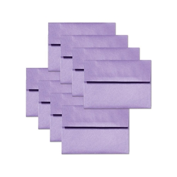 Simon Says Stamp Envelopes METALLIC LAVENDER ssse22