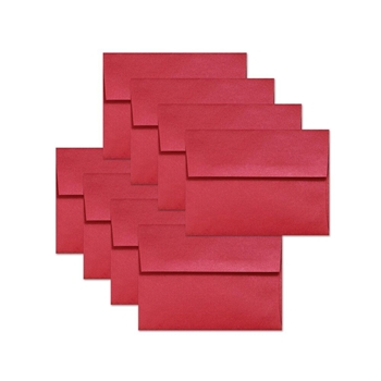 Simon Says Stamp Envelopes METALLIC SCHOOLHOUSE RED ssse27