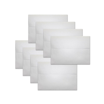 Simon Says Stamp Envelopes METALLIC WHITE ssse29