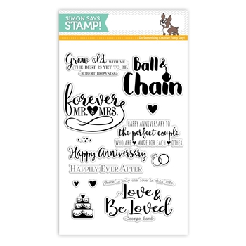 Simon Says Clear Stamps FOREVER AFTER SSS101648 STAMPtember