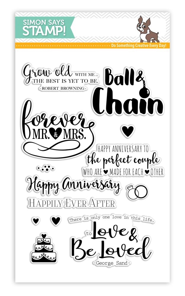 Simon Says Clear Stamps FOREVER AFTER SSS101648 STAMPtember zoom image