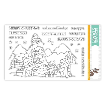Simon Says Clear Stamps AN ARCTIC CHRISTMAS SSS101649