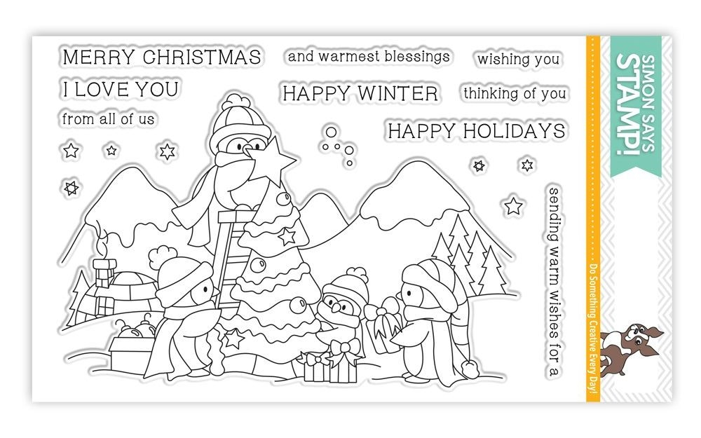 Simon Says Clear Stamps AN ARCTIC CHRISTMAS SSS101649 zoom image