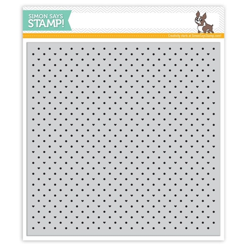 Simon Says Cling Stamps TINY DOTS AND HEARTS SSS101647 Preview Image