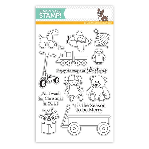 Simon Says Clear Stamps CHRISTMAS TOYS SSS101635 STAMPtember Preview Image