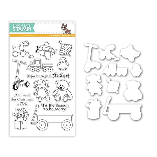 Simon Says Stamps And Dies CHRISTMAS TOYS Set266CT STAMPtember Preview Image