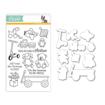 Simon Says Stamps And Dies CHRISTMAS TOYS Set266CT STAMPtember