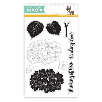 Simon Says Clear Stamps HYDRANGEA BLOOMS SSS101642