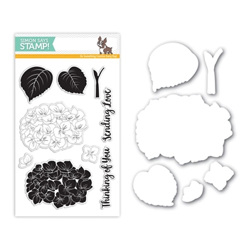 Simon Says Stamps And Dies HYDRANGEA BLOOMS Set269HB