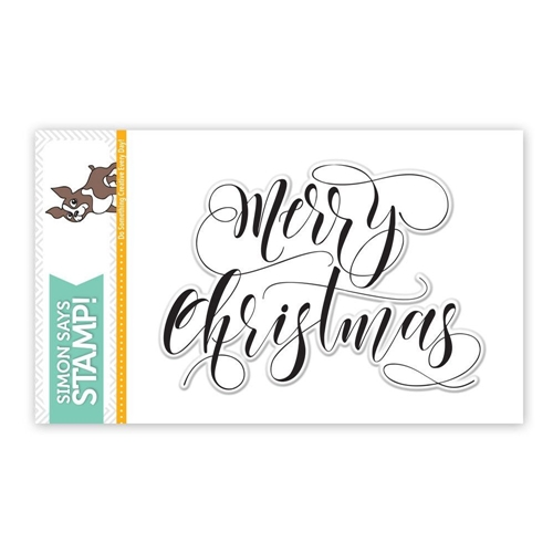 Simon Says Clear Stamps MERRY CHRISTMAS SSS101644 Preview Image