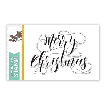 Simon Says Clear Stamps MERRY CHRISTMAS SSS101644 STAMPtember