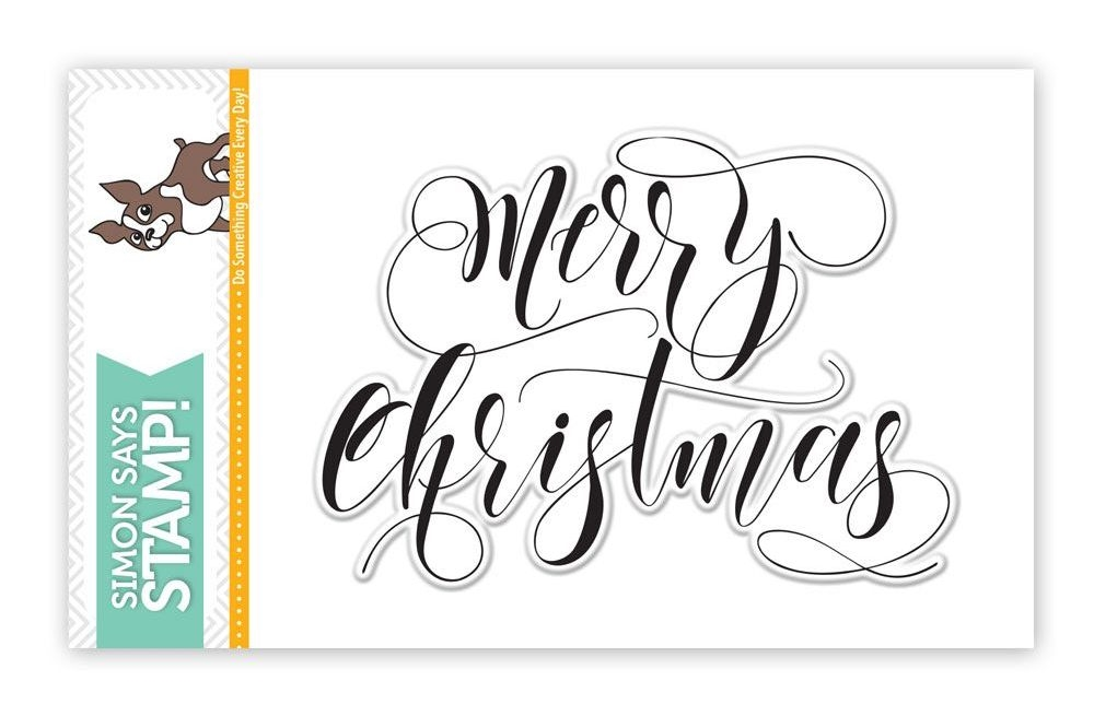 Simon Says Clear Stamps MERRY CHRISTMAS SSS101644 zoom image