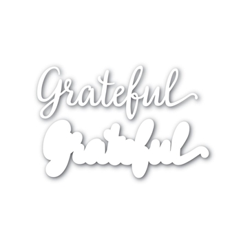 Simon Says Stamp GRATEFUL Wafer Dies SSSD111624 STAMPtember