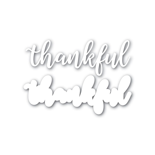 Simon Says Stamp THANKFUL Wafer Dies SSSD111625 STAMPtember Preview Image