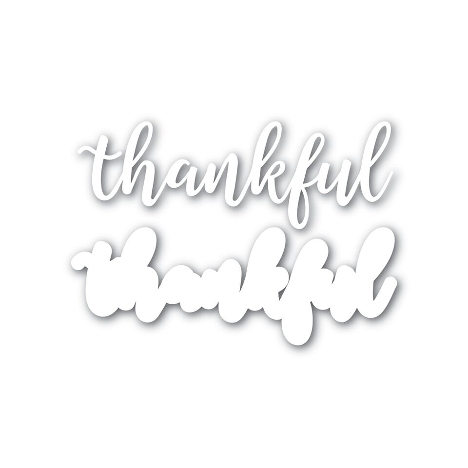 Simon Says Stamp THANKFUL Wafer Dies SSSD111625 STAMPtember zoom image