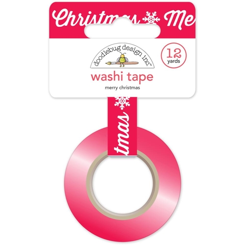 Doodlebug MERRY CHRISTMAS Washi Tape 5330 Preview Image