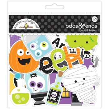 Doodlebug BOOS AND BREWS ODDS AND ENDS Die Cuts 5353