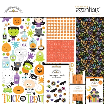 Doodlebug BOOS AND BREWS Essentials Page Kit 12x12 Inches 5404