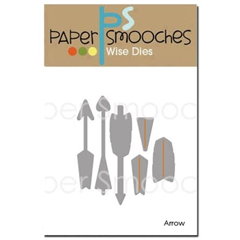 Paper Smooches ARROWS Wise Dies SED341