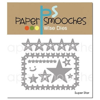 Paper Smooches SUPER STAR Wise Dies SED345