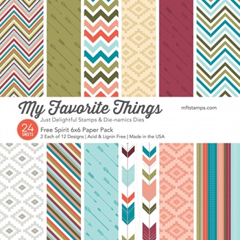 My Favorite Things FREE SPIRIT 6x6 Paper Pack 14905