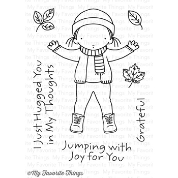 Pure Innocence JUMPING FOR JOY Clear Stamps MFT PI255