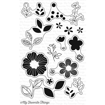 My Favorite Things BOLD BLOOMS Clear Stamps CS142
