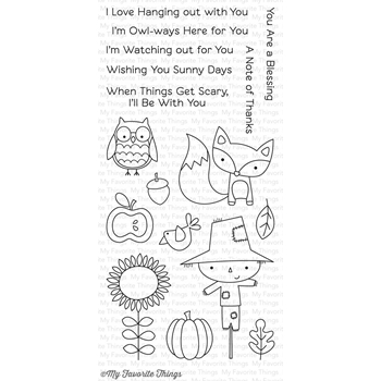 My Favorite Things FALL FRIENDS Clear Stamps CS143