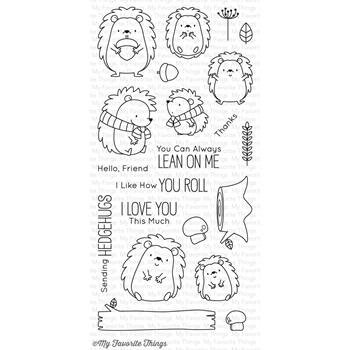 My Favorite Things HAPPY HEDGEHOGS Clear Stamps BB38