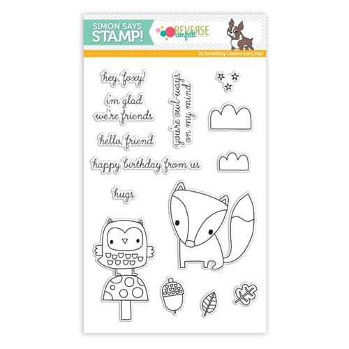 Reverse Confetti Stamptember Stamp Set FOREST FRIENDS sss101678 * Preview Image