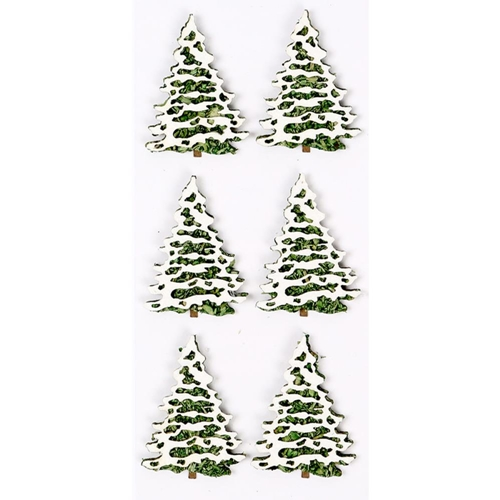 Little B SNOW COVERED TREES Mini Stickers 102233 Preview Image