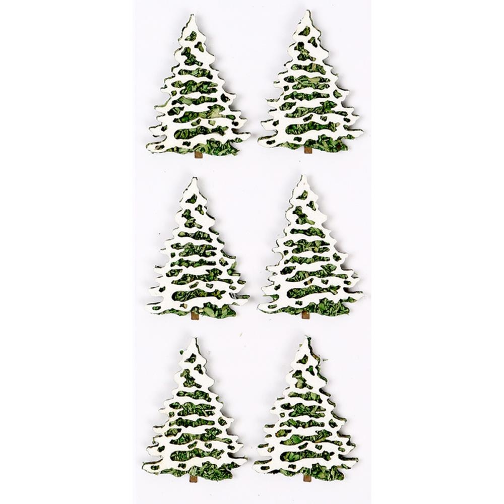Little B SNOW COVERED TREES Mini Stickers 102233 zoom image