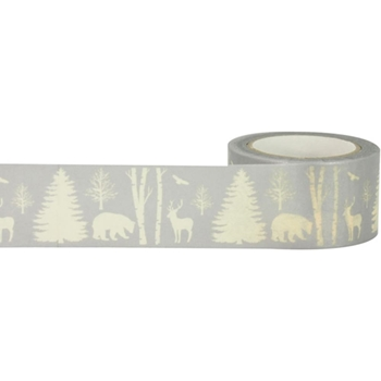 Little B WINTER NATURE Foil Tape 102249