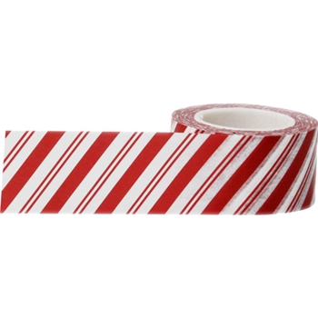 Little B CANDY CANE STRIPES Paper Tape 102254