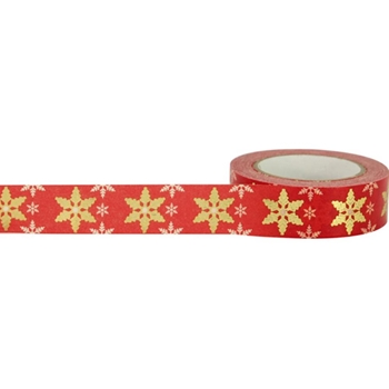 Little B SNOWFLAKE Foil Tape 102248