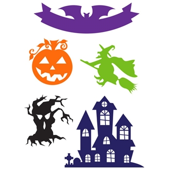Little B HALLOWEEN ICONS Designer Cutting Die 102275