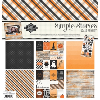 Simple Stories HAPPY HAUNTING 12 x 12 Collection Kit 4650