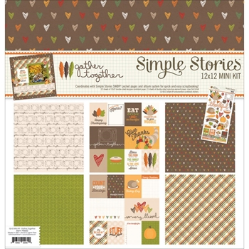 Simple Stories GATHER TOGETHER 12 x 12 Collection Kit 4660
